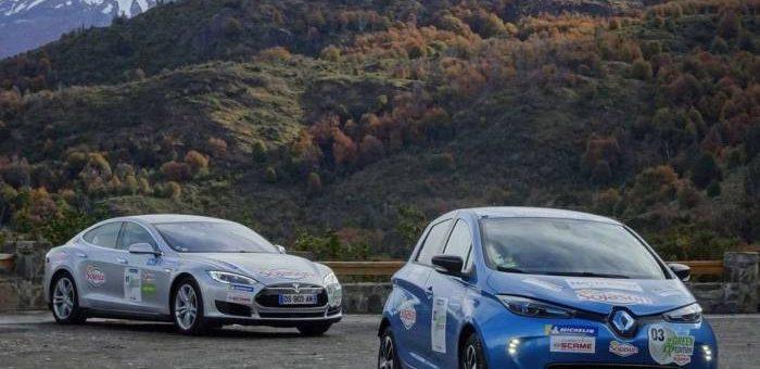 Travesía de vehículos eléctricos